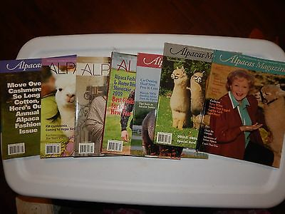 7 Alpacas Magazine Betty White Official Journal Owners & Breeders