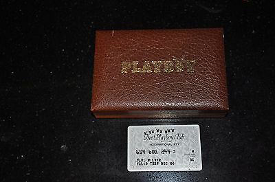 Playboy Club international key  with Playboy case for cards-no cards included