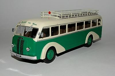 BUS COLLECTION Altaya 1/43 50 - LE PANHARD MOVIC IE 24 - 1948