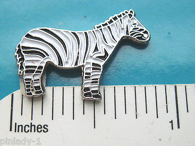 ZEBRA -    hat pin , lapel pin , tie tac , hatpin GIFT BOXED
