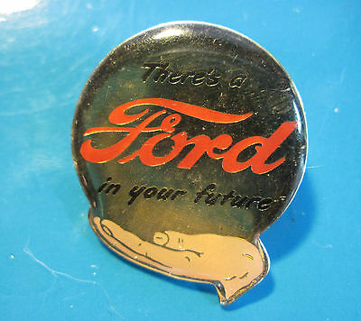 THERE'S A FORD IN YOUR FUTURE  hat pin , lapel pin , tie tac , hatpin GIFT BOXED