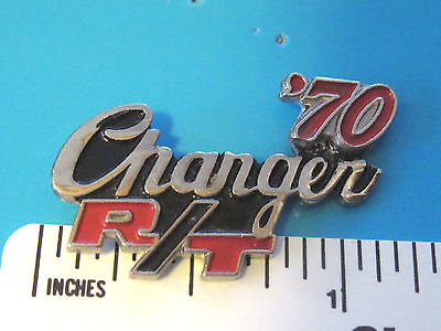 1967 - 74 CHARGER Charger RT R/T  R T - hat pin , lapel pin , tie tac GIFT BOXED