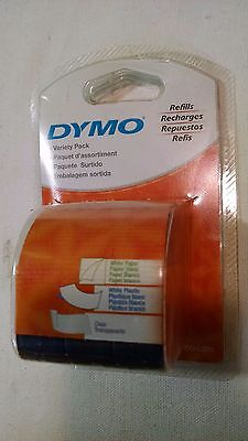 "DYMO Variety Pack 12331 1/2"" x 13' Refill Label 3-Pack"