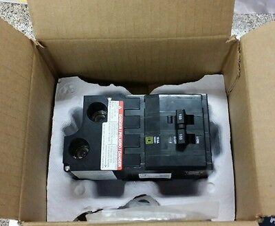 BRAND NEW Square D QO2150 2 pole 150 amp plug on circuit breaker QO series.