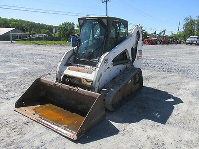 2007 Bobcat T190 Tracked Skid Steer Loader w/ Cab!