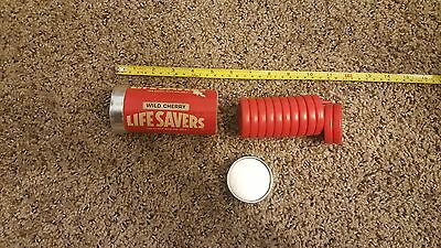 Vintage Life savers Puzzle wild cherry red stacking puzzle Lifesavers Game