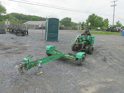 2012 Vermeer SC252 Self-Propelled Stump Grinder w/ Trailer!