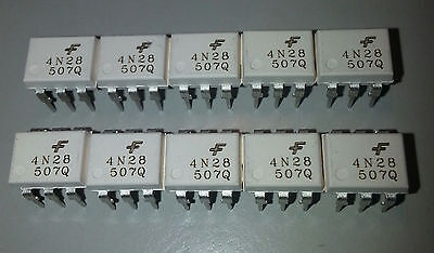 4N28 Optocoupler Pack of 10