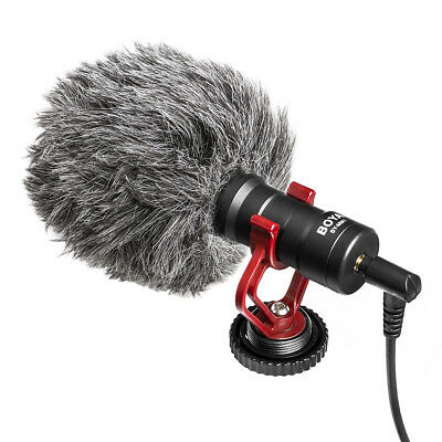 BOYA BY-MM1 Universal Cardiod Shotgun Pro Microphone for Canon Nikon Camcorder