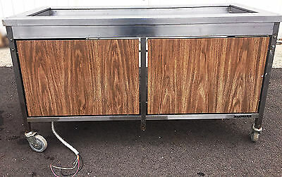 LINCOLN FOOD SERVICES CFT-64  REFRIGERATED SALAD BAR COLD BUFFET 64wideFREESHIP