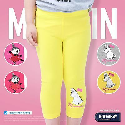 Moomins Kids Girls Sweatpants Knitted Casual Pants Trousers Joggers Cotton Solid