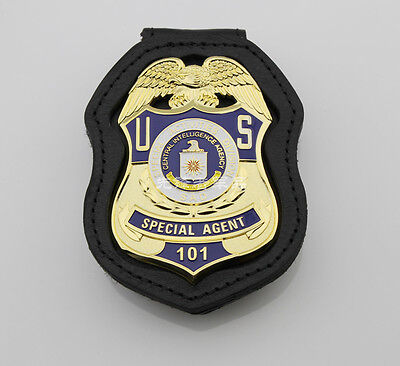 U.s Special Activities Division Special Agent Props Collection Badge Full Size