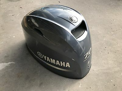 Yamaha F70 Upper Cowl - Minor Damage