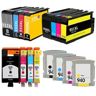 Multipack Compatible Ink Cartridges HP 920XL 932XL 940XL 950XL