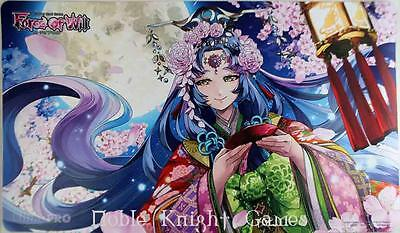 Ultra Pro Force of Will Playmat Playmat - Hanami (ACD Exclusive) MINT