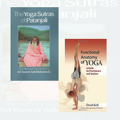 Sri Swami Satchidananda, David Keil  Collection 2 Books Set (Yoga Sutras of Pata