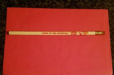 """VINTAGE 1970's BURGER KING """"Home of the Whopper"""" PENCIL, Unused   GC FS"""