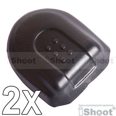 2 x Hot Shoe Protector Cover/Cap BS-2 for Nikon/Canon/Pentax Olympus SLR Camera