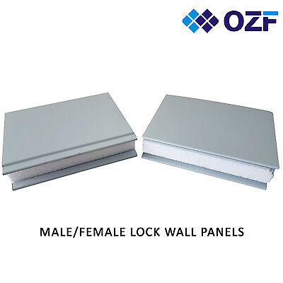 Brand New Z- LOCK 50mm thick Insulated Wall panel made with Bluescope steel