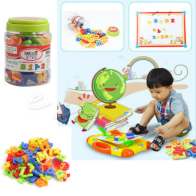 78Pcs Magnetic Letters Numbers Alphabet Capital & Lower Case Learning Toy Hot
