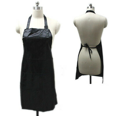 Waterproof Hair Cutting Apron Bib Barber Salon Hairdresser Waist Cloth Beauty AU