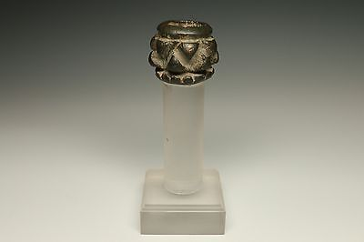 Near Eastern Luristan Bronze Mace-Head Antiquity 1500 - 500 B.c.
