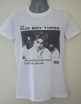 Fun Boy Three t-shirt the specials madness the beat yazoo the selecter 3