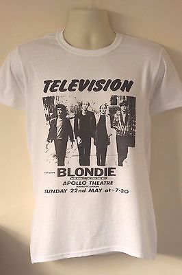 Television T-shirt gig flyer gang of four magazine josef k blondie raincoats