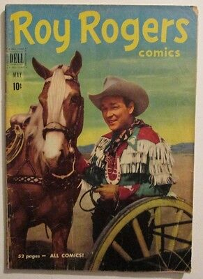 Roy Rogers #41 Dell Western Comic May 1951