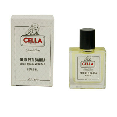 Cella Olio per Barba Olio di Argan e Vitamina E 50 ml