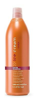 Inebrya Color Shampoo creme caramel per capelli colorati o con mèches 1000ml