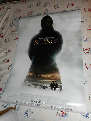 """Adam Driver Andrew Garfield SILENCE official movie poster one sheet DS 27x40"""""""
