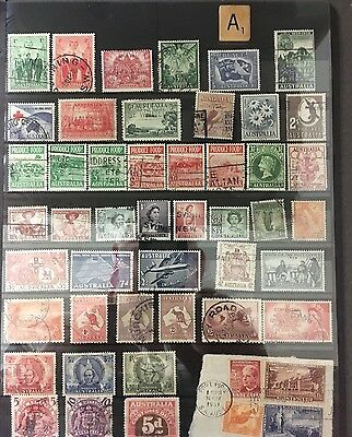 Australia: Nice Stamp Collection All Different - Collectors Bargain  Free Ship A
