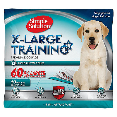 Puppy Training Pads Potty Dog Supplies Pets Odor Control Absorbent X Large New
