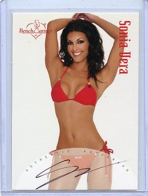 2004 Benchwarmer Series 1 Sonia Vera Autograph