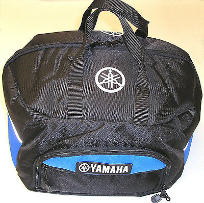 Genuine Yamaha Deluxe snowmobile / motorcycle helmet goggle storage bag NEW