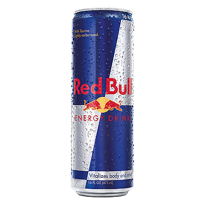 Red Bull Energy Drink, 16 Fl Oz Cans, 12 Pack - FREE Shipping USA Seller
