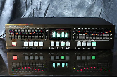SOUNDCRAFT 10-Band Stereo Graphik Equalizer mit Bedienanleitung RAR