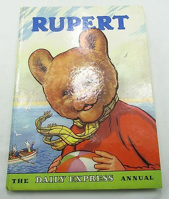 RUPERT BEAR DAILY EXPRESS ANNUAL 1959 VINTAGE COMIC STRIP ALFRED BESTALL 1950s