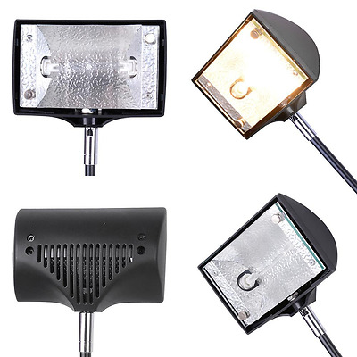 150w Halogen Spot Light with Bulb and Adaptor for Trade Show Display Pop up Boot