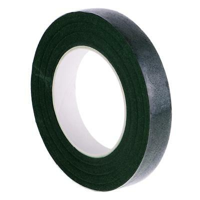30yd Dark Green Floral Stem Wrapping Tape Adhesive for Bouquet Flower Craft
