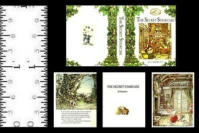 1:6 SCALE MINIATURE BOOK SPRING STORY BRAMBLY HEDGE PLAYSCALE BARBIE
