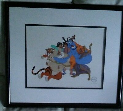 Aladdin Limited Edition - Serigraph Cell
