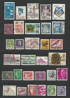 WORLD STAMPS - mixed collection, Lot No.98, all different