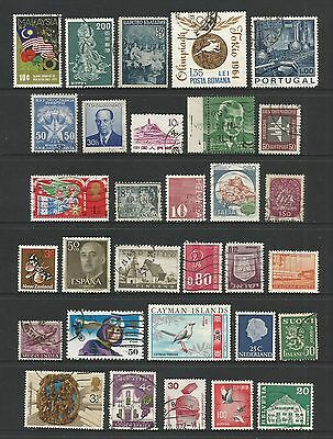 WORLD STAMPS - mixed collection, Lot No.101, all different