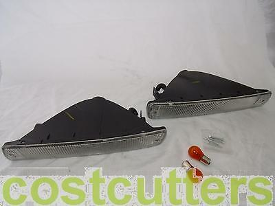 Toyota Landcruiser 80 Series Clear Front Indicators - Pair (RHS + LHS)