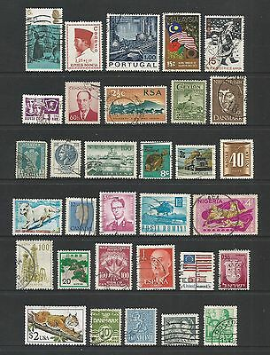 WORLD STAMPS - mixed collection, Lot No.104, all different