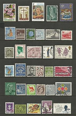 WORLD STAMPS - mixed collection, Lot No.106, all different
