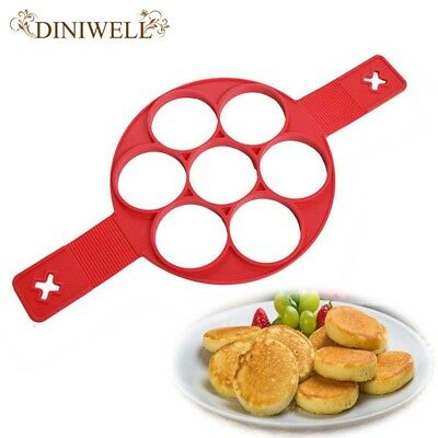 Fashion Style Baking Pancake Maker Egg Ring Fantastic Fast Easy Way to Make Perf