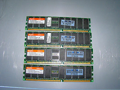 2GB(4X512MB) PC2100 DDR 266 server ram